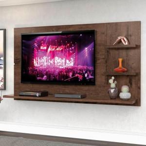 Painel New Clean com Nicho para TV até 49 Polegadas - Jacarandá - Zanzini