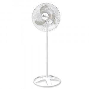 Ventilador de Coluna Premium - 60cm 3 Pás 3 Velocidades Branco - Bivolt- Venti-Delta