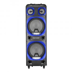Caixa de Som Mini Torre - 2000W - USB Bluetooth - Bivolt - Multilaser