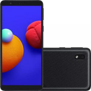"Smartphone Samsung Galaxy A01 Core - 2GB RAM 32GB Câmera 8MP Tela 5.3"" - Preto"
