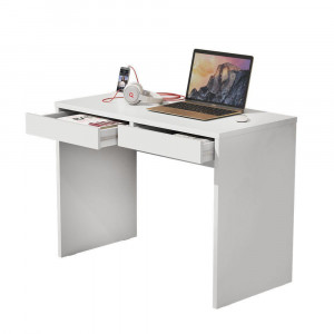 Escrivaninha JB 6080 Luxo - Branco - JB Bechara
