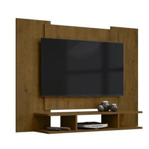 Painel para TV até 48 Polegadas com Nichos - Malbec - EJ Móveis
