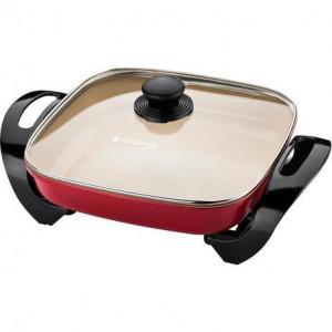 Panela Elétrica Ceramic Pro PAN242 Vermelho 110V - Cadence