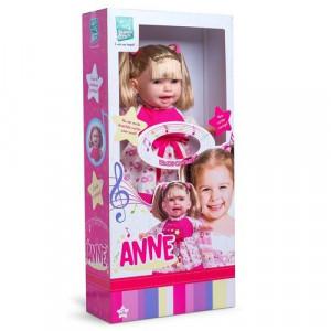 Boneca Anne cante comigo com cabelo 333