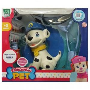Boneco Esquadrão Pet Dodói Cachorrinho Menino Com Acessórios 427