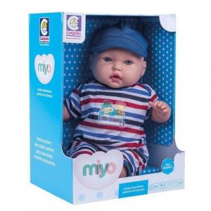 Boneca De Vinil Bebês Fofinhos Miyo Menino Cotiplas 2246