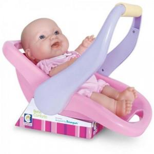 Bebê Conforto La New Born Com Boneca Cotiplas 1848