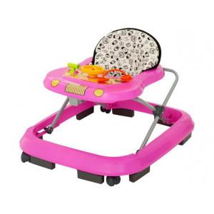 Andador Infantil Tutti Baby - Rosa - Safari