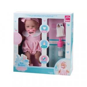 Boneca Babies Primeira Mamadeira Roma 5056