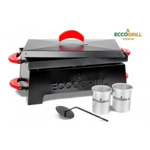 Churrasqueira Eccogrill Premium Completa A Álcool Original