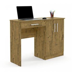 Escrivaninha Mesa de Computador 2 Portas 1 Gaveta Space Patrimar Móveis Nature