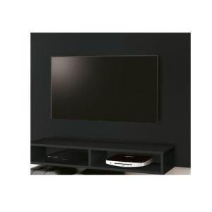 Painel Fox New Para TV até 43 Preto - Edn Móveis
