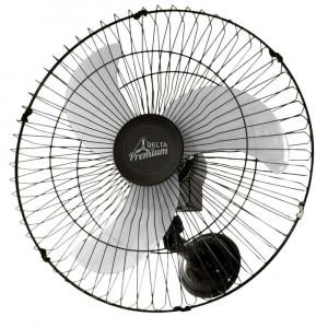 Ventilador de Parede 60 cm Venti Delta Premium Preto Bivolt