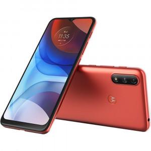 Smartphone Moto E7 Power 32GB 4G Wi-Fi 6.5 Dual 2GB RAM Cam Dupla 5MP VM Coral - Motorola