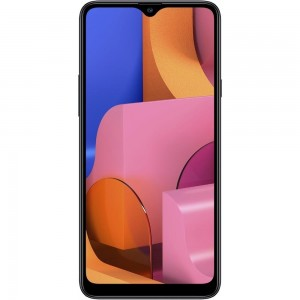 "Smartphone Samsung Galaxy A20s - 3GB RAM 32GB Câmera Tripla 13MP + Selfie 8MP Tela 6.5"" Android 9.0 - Preto"