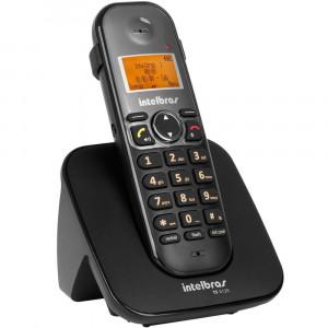 Telefone Sem Fio - Viva Voz Identificador de Chamadas Display Luminoso - TS 5120 - Intelbras - Bivolt