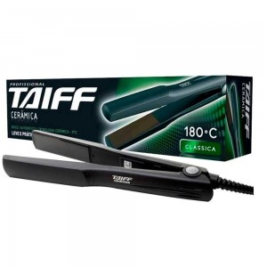Chapinha/Prancha de Cabelo - PTC Cerâmica Action Clássica - Taiff - Bivolt