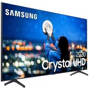 "Smart TV 4K 55"" Crystal UHD LED Samsung 55TU7000 - Wi-Fi HDR Bluetooth 2 HDMI 1 USB - Bivolt"