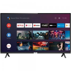 "Smart TV 32"" LED TCL 32S6500 - Android Wi-Fi HDR Inteligência Artificial Bluetooth 2 HDMI 1 USB - Bivolt"
