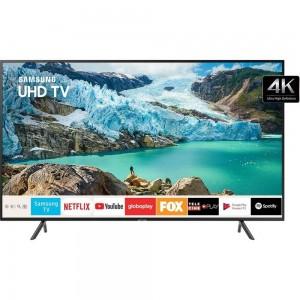 "Smart TV 4K 50"" LED Samsung UN50RU7100 - Wi-Fi Bluetooth HDR Conversor Digital 3 HDMI 2 USB - Bivolt"
