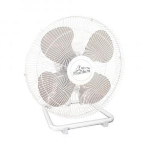 Ventilador de Mesa Premium - 50cm 4 Pás 3 Velocidades Branco - Bivolt- Venti-Delta