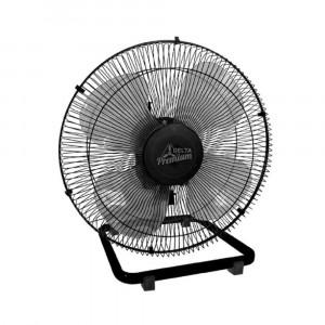 Ventilador de Mesa Premium - 50cm 4 Pás 3 Velocidades Preto - Bivolt- Venti-Delta