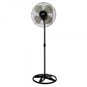 Ventilador de Coluna Premium - 50cm 4 Pás 3 Velocidades Preto - Bivolt- Venti-Delta