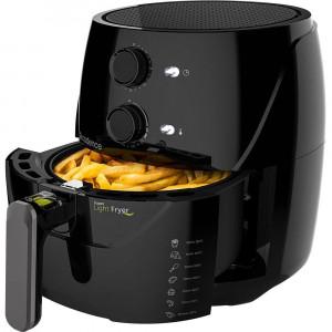 Fritadeira Sem Óleo Super Light Fryer - Air Fryer 1500W 3.2L 110V - Preta - Cadence