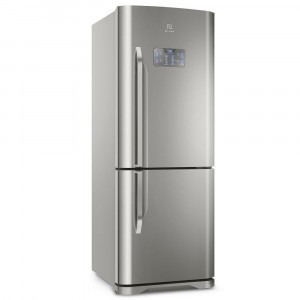 Geladeira Inverter Electrolux - 454 Litros Frost Free Porta Inverse Sistema Multiflow Painel Touch Inox - 110v